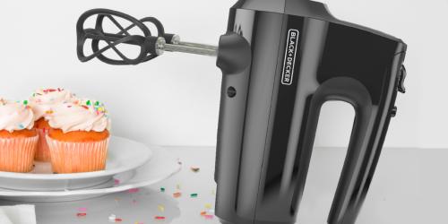 BLACK+DECKER Hand Mixer Just $10.44 on Walmart.com (Regularly $30)