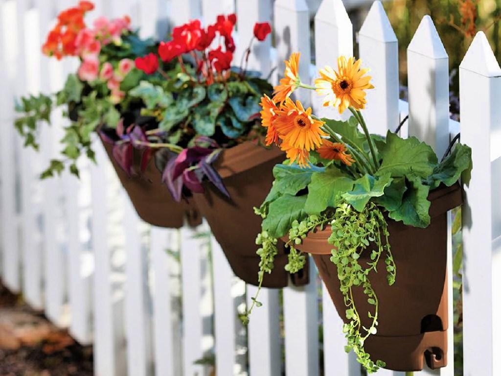 Bloem 3-Pack PlasticHanging Garden Planter System
