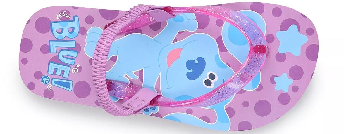 Blue's clues themed kids sandal