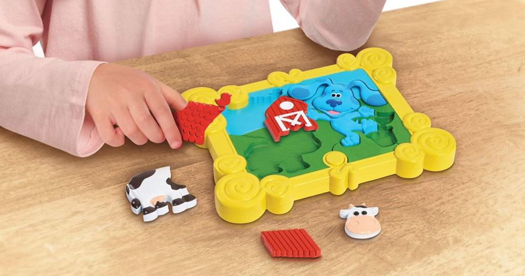 3D Blues clues puzzle