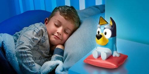 Bluey or Bingo 2 in 1 Bedtime Night Light Only $9.99 on Amazon or Walmart.com