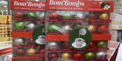 Hot Chocolate Bombs 20-Count Gift Set Only $17.99 at Costco