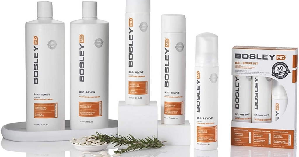 bosley bosrevive hair care products