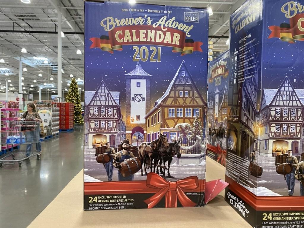 costco's brewer's advent calendar for 2021