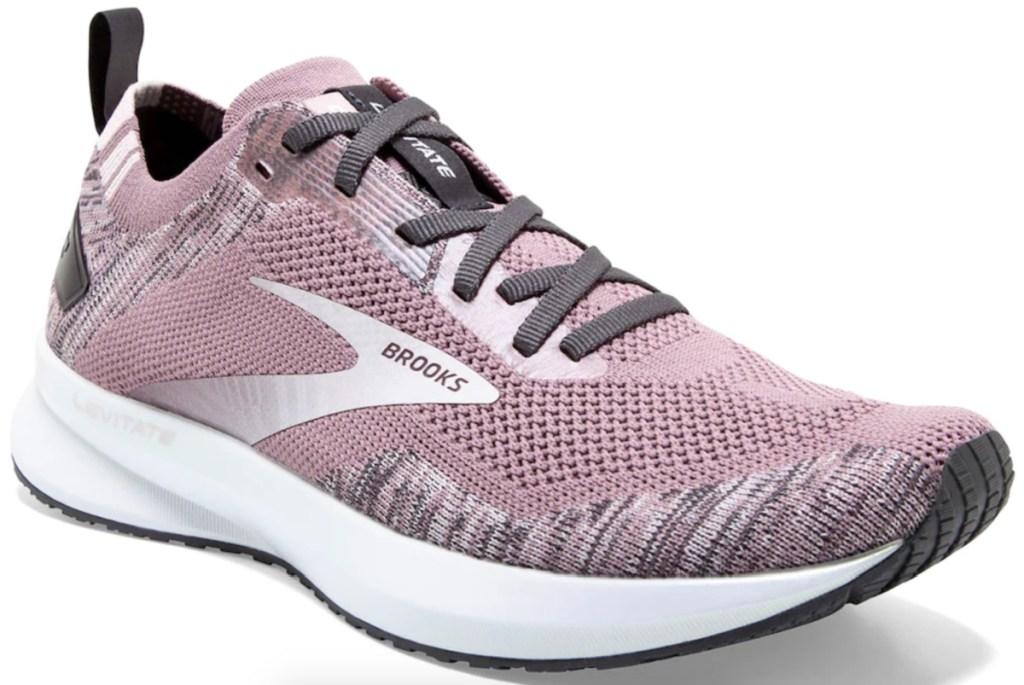 mauve women's brooks levitate shoes