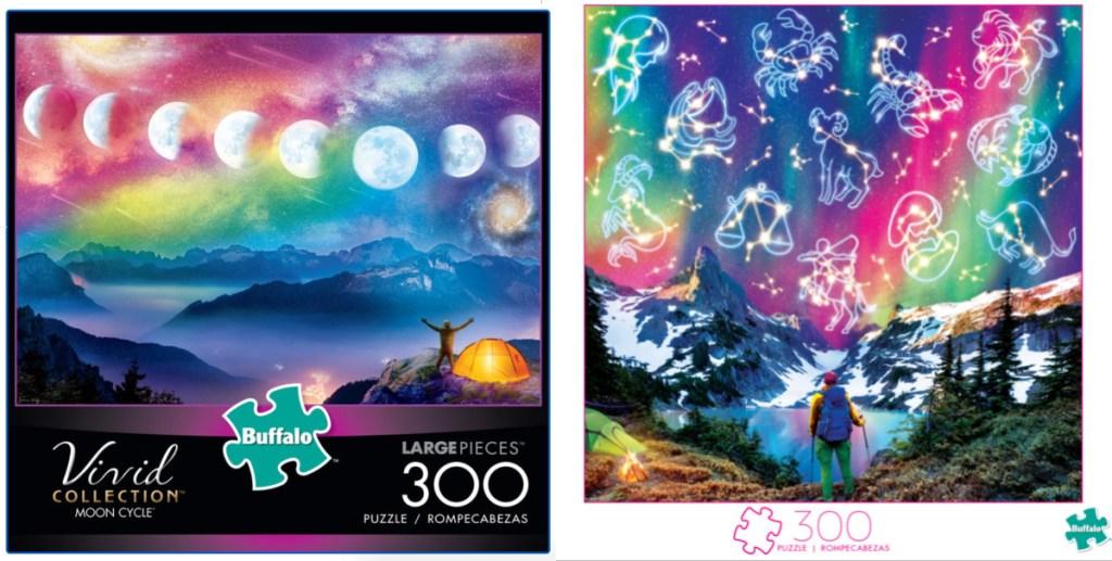 2 buffalo games zodiac jigsaw puzzles