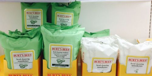 Burt's Bees Makeup Removing Wipes 30-Count Packs from $3.49 Shipped on Amazon (Regularly $6)