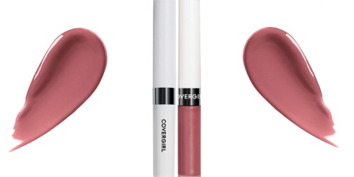 CoverGirl Outlast Lip Color Just $3.50 Shipped on Amazon