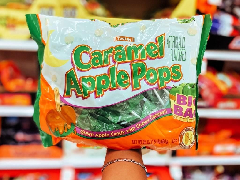 Caramel Apple Pops Halloween 24oz Bag