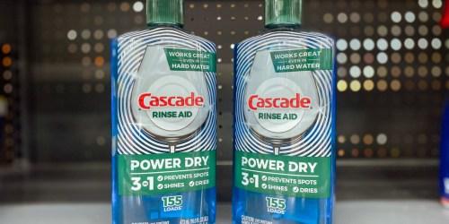 Cascade Dishwasher Rinse Aid 2-Pack Just $8 Shipped on Amazon
