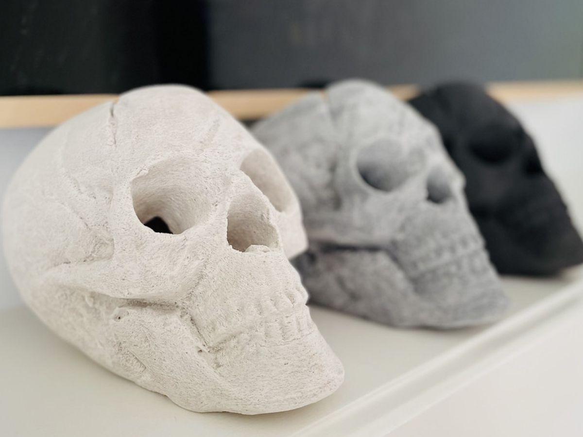 Ceramic Skulls for Fire