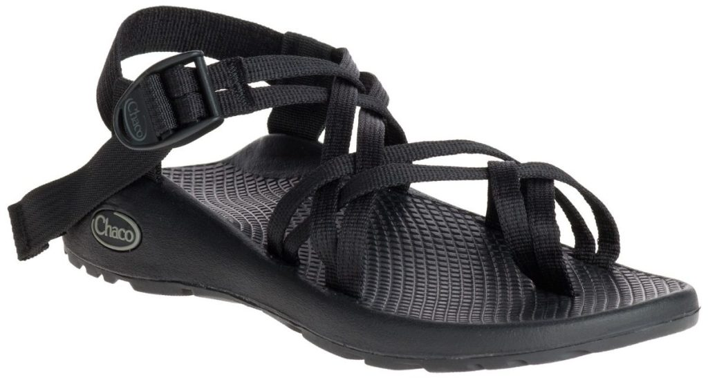 women's black sandal