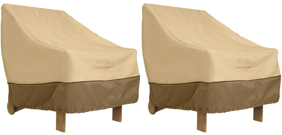 classic accessories water resistant patio chair covers