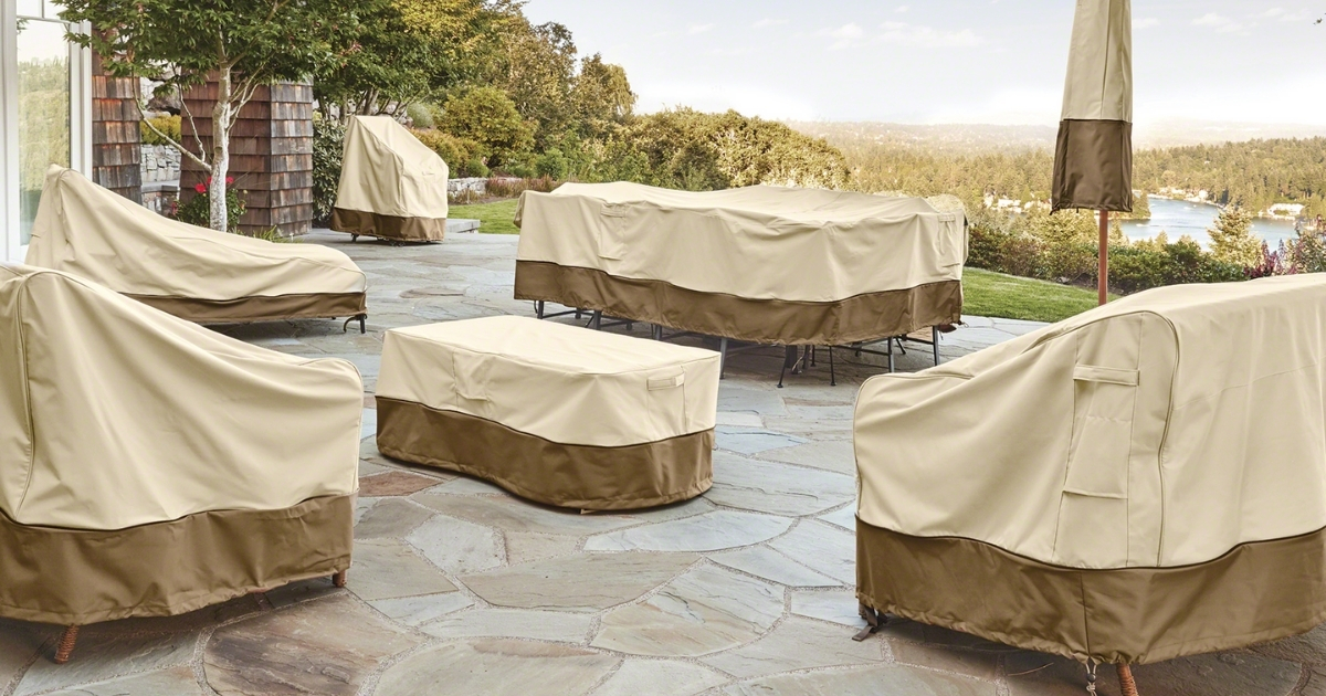 classic accessories patio furniture water resistant covers