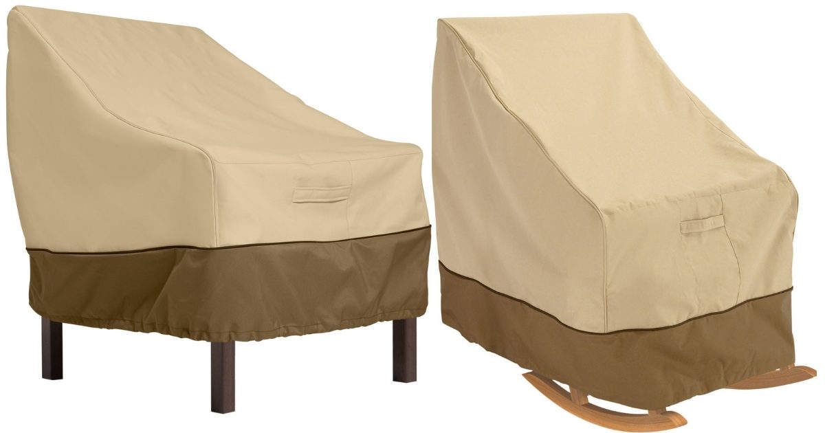 standard high back chair and rocking chair covers from classic accessories