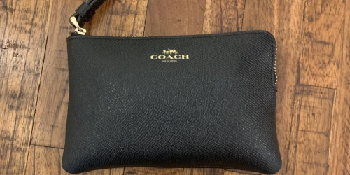 Coach Wristlets from $26.52 Shipped (Regularly $78) | Multiple Colors & Styles