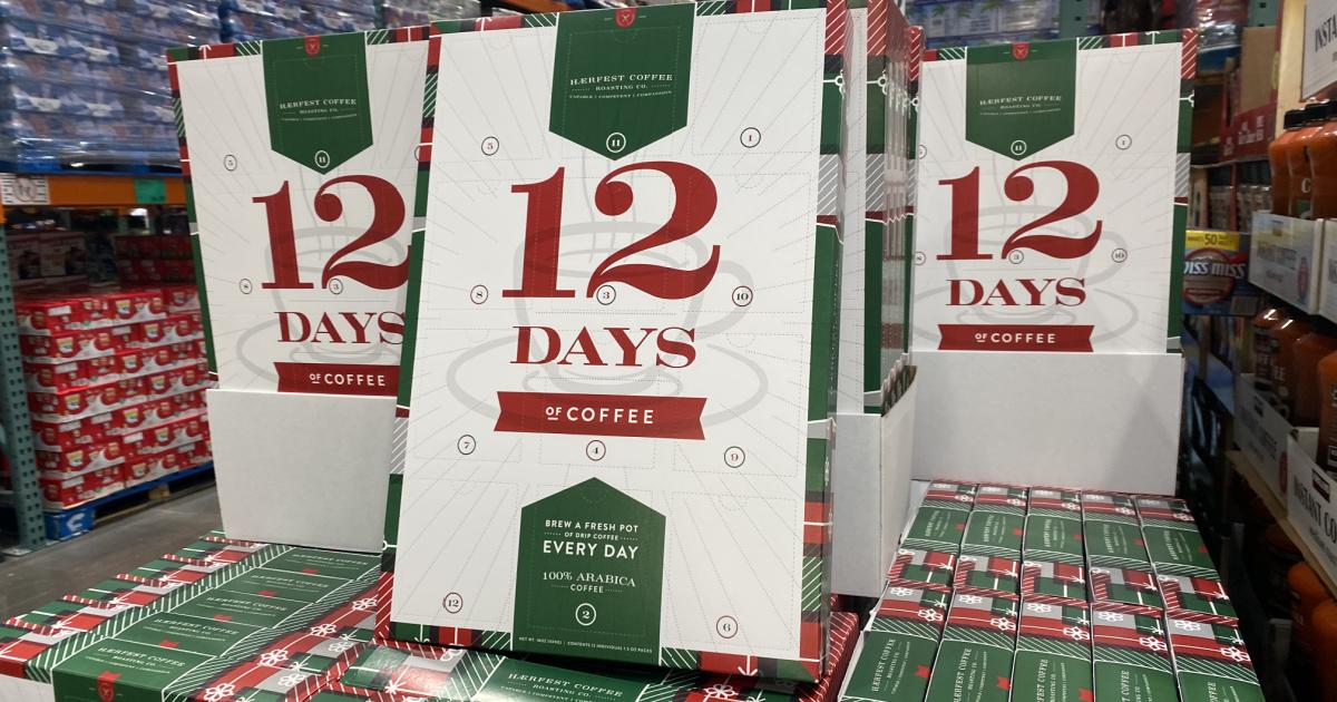 12 day coffee advent calendar