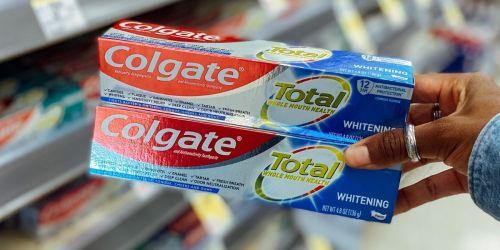 2 FREE Colgate Toothpastes After Walgreens Cash Rewards