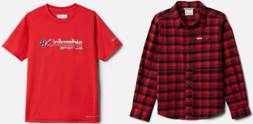 Columbia Boys Clothing