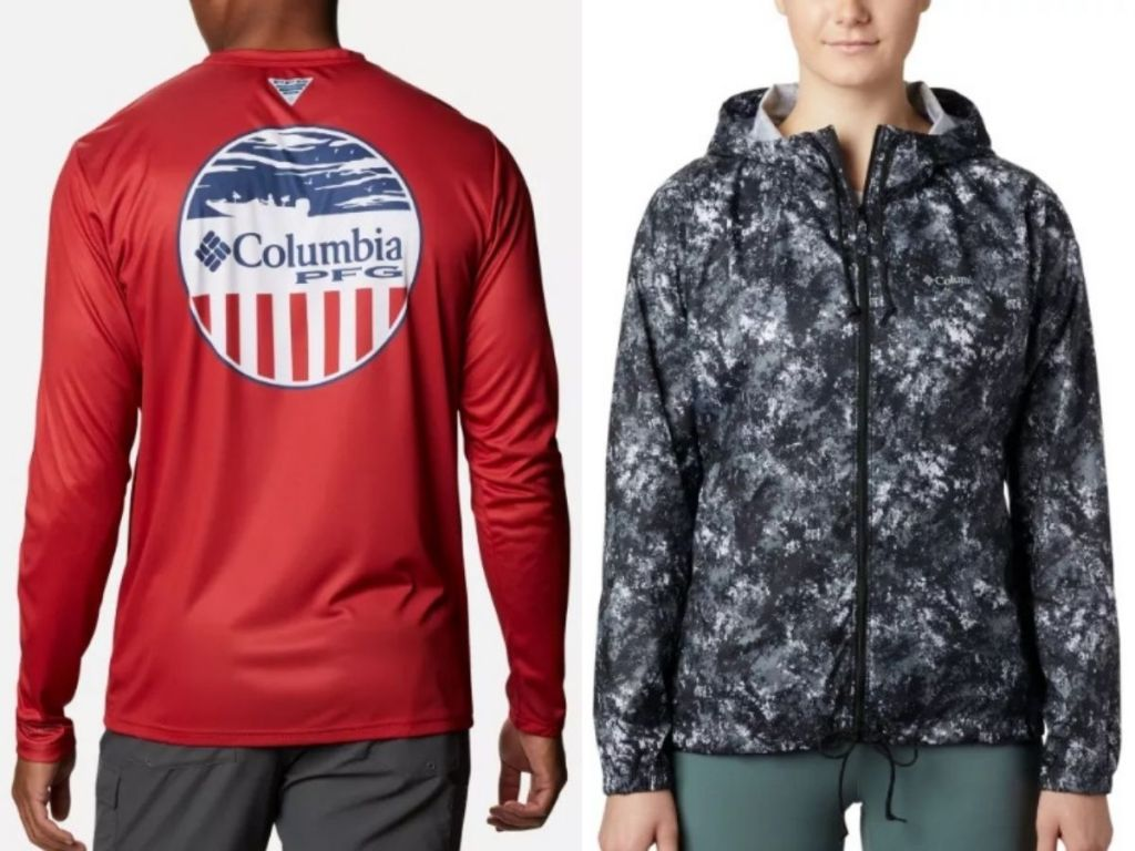 Columbia clothing for men and women