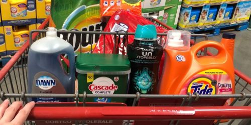 Score a $25 Costco Shop Card w/ $100 P&G Purchase   Stacks with Household Essentials Instant Savings