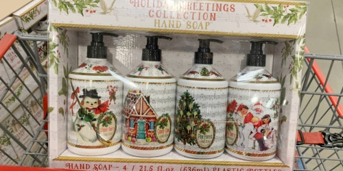 La Tasse Holiday Scents Hand Soap 4-Pack Only $9.99 at Costco | Just $2.50 Per Soap