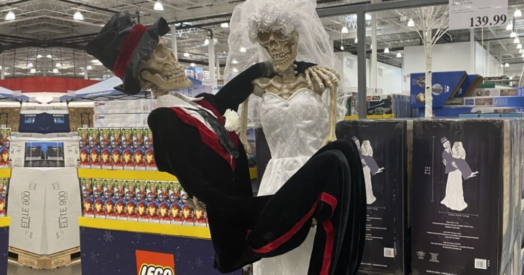 Animated Bride & Groom Skeletons Decoration Lone $39.97 Shipped On Costco.com (regularly $140)