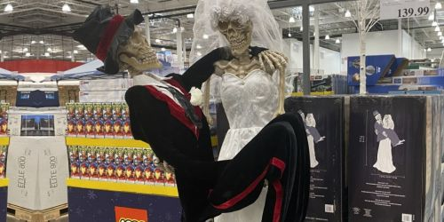 Animated Bride & Groom Skeletons Decoration Only $39.97 Shipped on Costco.com (Regularly $140)