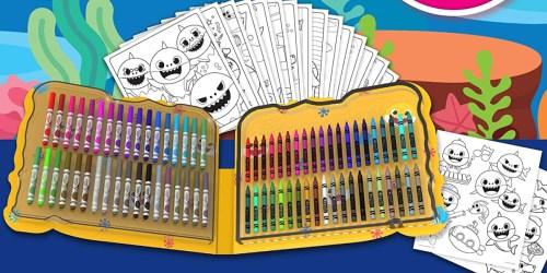 Crayola Baby Shark Art Set or Color Wonder Art Desk Just $11.93 on Macy's.com (Regularly $25)