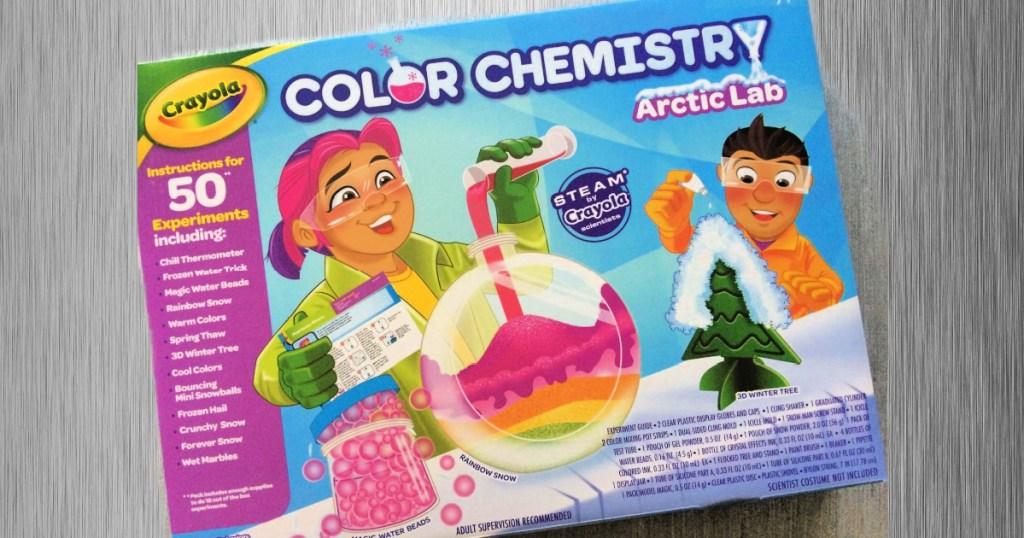 Crayola Color Chemistry Arctic Lab Set