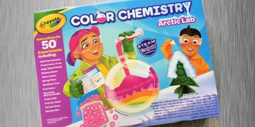 Crayola Color Chemistry Lab Set Only $12 on Amazon or Walmart.com (Regularly $26)