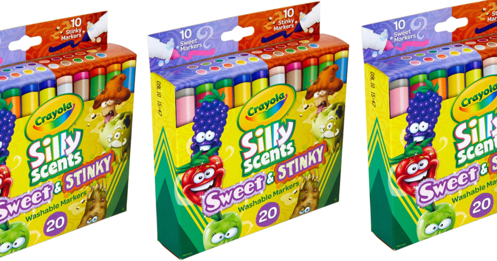 Crayola Silly Scents Marker packs