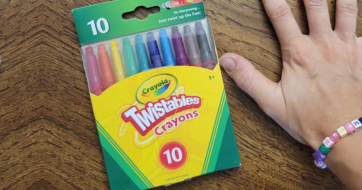 Crayola Twistables 10 Count Crayons