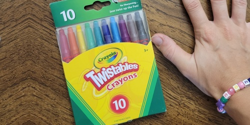 Crayola Twistables Crayons 10-Pack Just $1.97 on Amazon