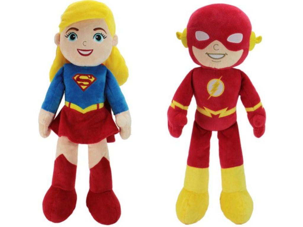 supergirl and iron man plush