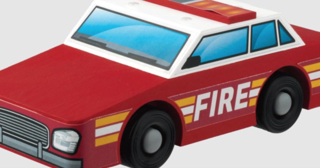 home depot DIY fire chief car