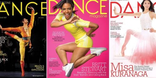 Complimentary 1-Year Dance Magazine Subscription   No Credit Card Required