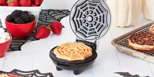 Dash Halloween Mini Waffle Makers from $5.99 (Regularly $20) + Free Shipping for Kohl's Cardholders
