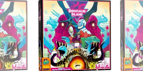 Highly Rated Dinosaur Island Board Game Only $34.97 Shipped on Amazon (Regularly $60)