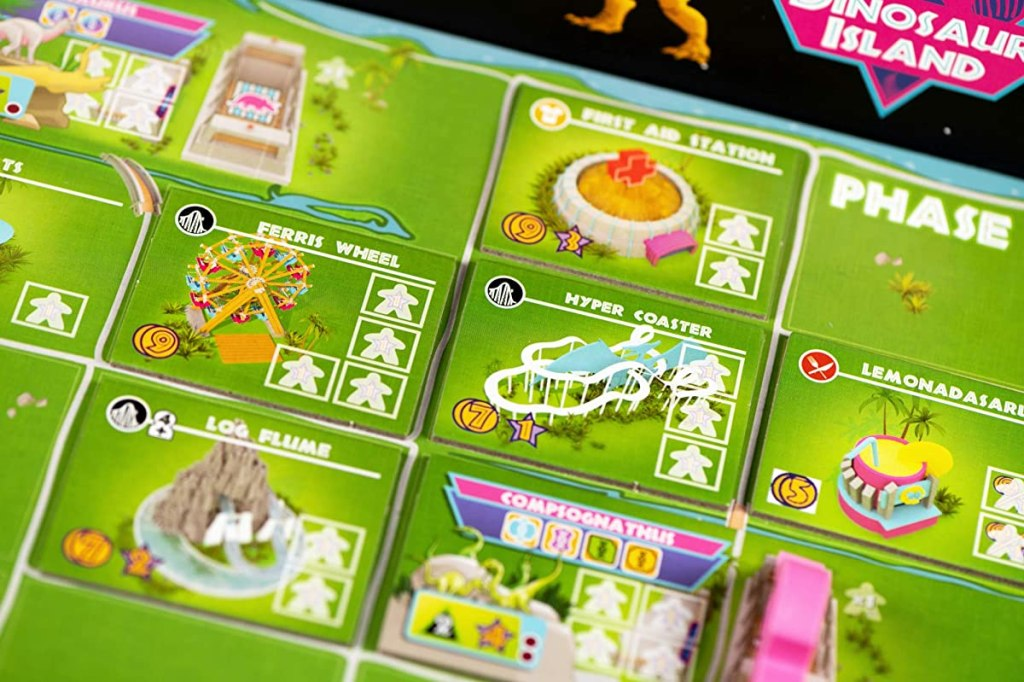 Dinsoaur Island Game