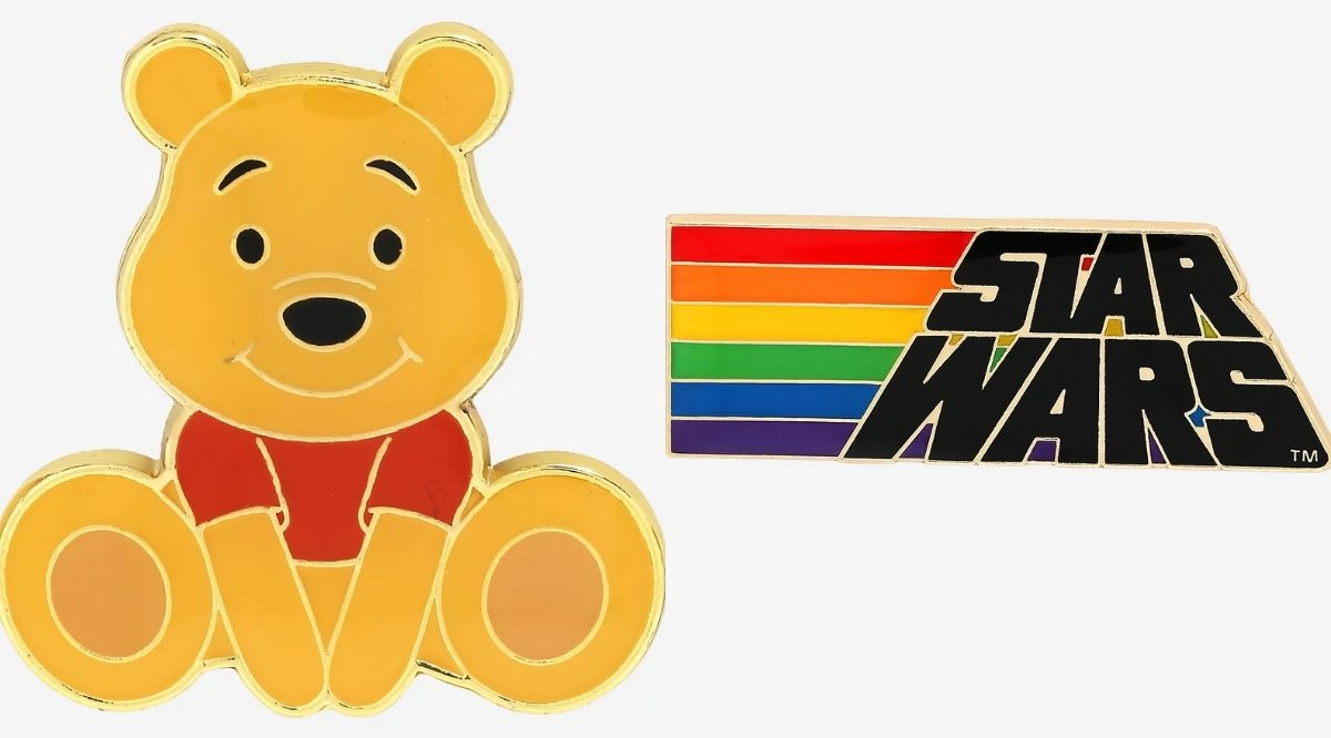 winnie the pooh and star wars disney pins