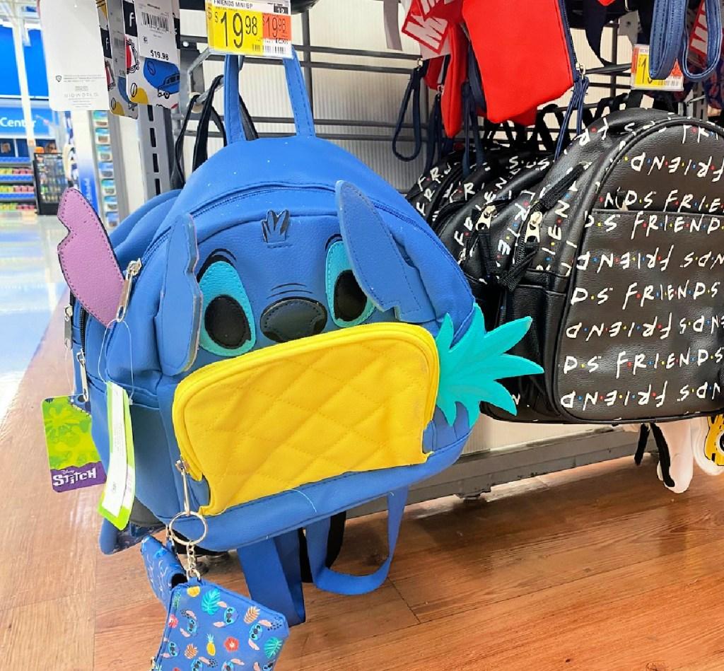 Disney Lilo & Stitch Pineapple Women's Mini Backpack w/ Coin Purse