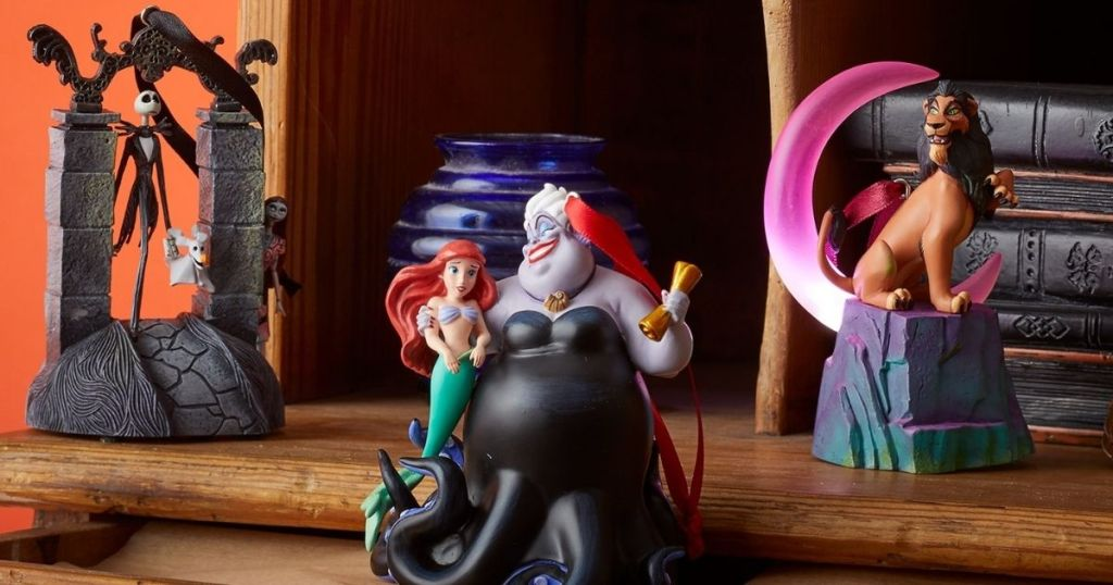 group of Disney ornaments