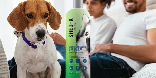 Shed-X Daily Supplement for Dogs 32oz Bottle Just $5 Shipped on Amazon