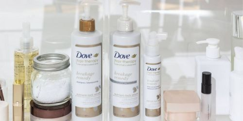 $9 Worth Dove Hair Care Coupons = Over 50% Off Shampoo & Conditioner at Target