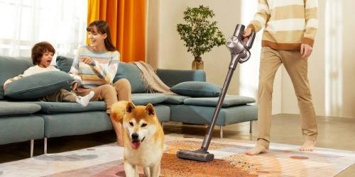 $170 Off Cordless Stick Vacuum on Amazon | 90-Minute Run Time & Cleans Carpet & Hard Floors