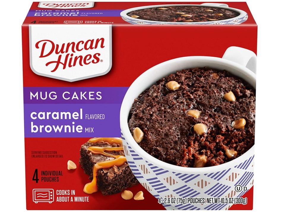 Duncan hines brownies in a mug