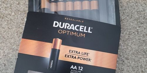 2 FREE Duracell Optimum Batteries Packs After Office Depot Rewards + Free In-Store Pickup