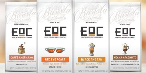 Eight O'Clock Coffee Barista Blends Mocha Macchiato Ground Coffee Only $4 Shipped on Amazon