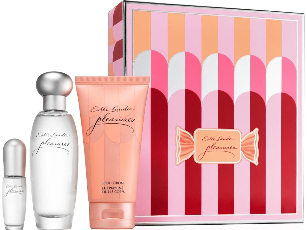 perfume gift set and box